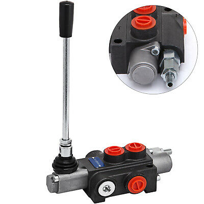 1 Spool Hydraulic Control Valve 11gpm Directional Double Acting Cylinder 40lmin