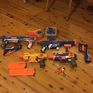 Box of Nerf guns Newtown Inner Sydney Preview