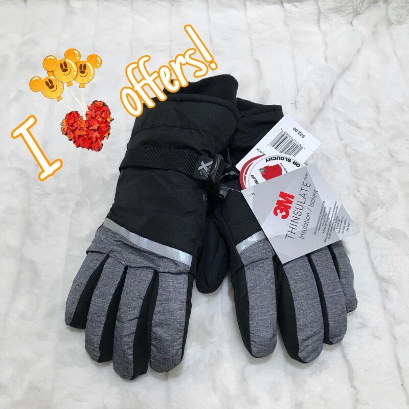 NWD ZeroXposur Boys L/XL Grey Insulated Gloves