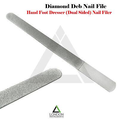Professionnel Diamant Deb Lime à Ongles Rigide Dead Peau Enlèvement Manucure