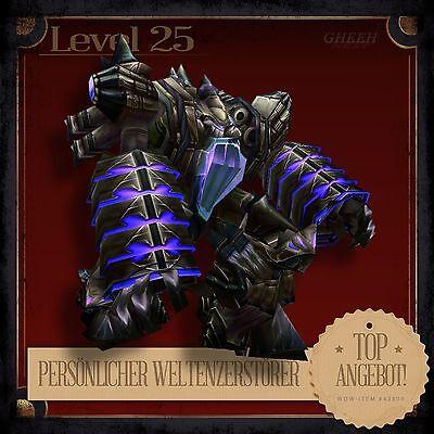 » Persönlicher Weltenzerstörer | Personal World Destroyer | Haustier L25 « Persönliche Pc