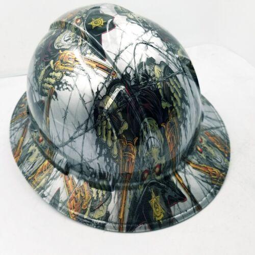 FULL BRIM Hard Hat custom hydro dipped , NEW DIRTY DIRTY HARRY NEW 4