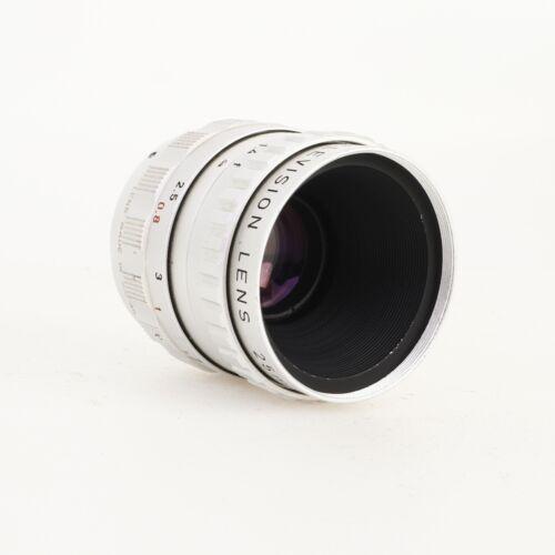 * Cosmicar Television Lens 25mm f1.4 Cine Lens C Mount