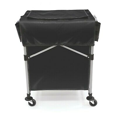 Rubbermaid 1889863 Collapsible Black X-cart Cover Small - Cover Only