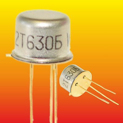 SF129D LOT OF 5 RFT SILICON NPN GOLD-PLATED TRANSISTORS 0.6W 0.5A ~BSY55