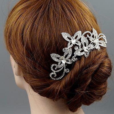 Bridal Hair Comb Crystal Headpiece Hair Clip Hair Pin Wedding Accessories 07241