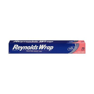 Reynolds Wrap Standard Aluminum Foil, 75 Square Ft