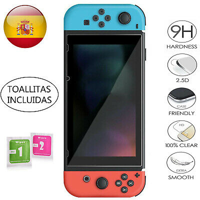 Protector de Pantalla para Nintendo Swtich Cristal Templado 9H 2.5D Glass Premiu