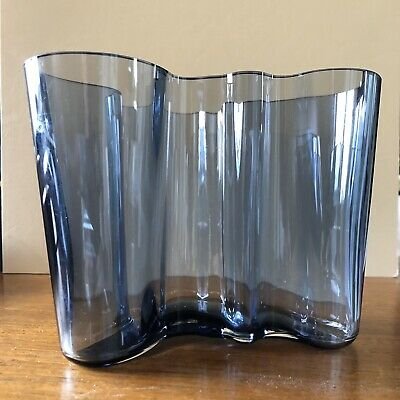 Rare Discontinued iittala alvar aalto 120mm Vase Maljakko Collectors Piece Boxed