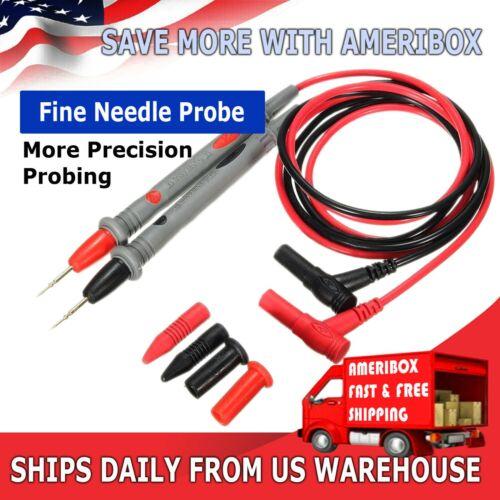 Multimeter Voltmeter Cable Ultra Fine Needle Tester Unique Probe Test Lead cord