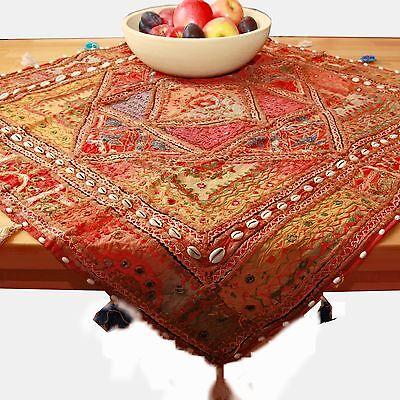 Wandteppich Tischdecke Indien Beduinen-Wandbehang,eckig Nr.24 hippie Teppich