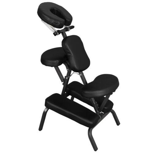 Portable PU Leather Pad Travel Tattoo Spa Massage Chair w/ C