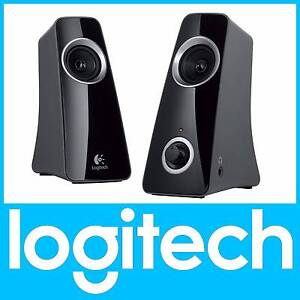 LOGITECH Z320 STEREO COMPUTER SPEAKERS BLACK St Leonards Willoughby Area Preview