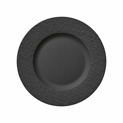 Villeroy & Boch Manufacture Rock Speiseteller 27 cm Teller Premium Porzellan