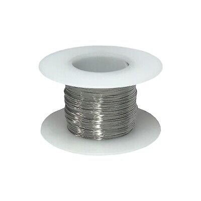 30 Awg Gauge Stainless Steel 316l Wire 250 Length 0.0100 Diameter
