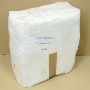 10 kg Putzlappen Trikot weiss A Baumwolle weich saugfähig für Öl Kfz Werkstatt