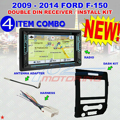 2009-14 F150 GPS NAVIGATION SYSTEM BLUETOOTH USB CD/DVD CAR RADIO STEREO PKG