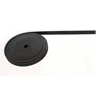 1 Metre Of 3d Printer Gt2 Timing Belt 6mm Width Reprap Rostock Mendel Prusa