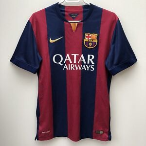 2014 Nike Authentic FC Barcelona Lionel Messi Home Jersey