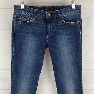 Joe's Jeans Rocker Fit Womens Size 27 in. Stretch Blue Med Wash Bootcut Denim Fit Bootcut Blue Jeans