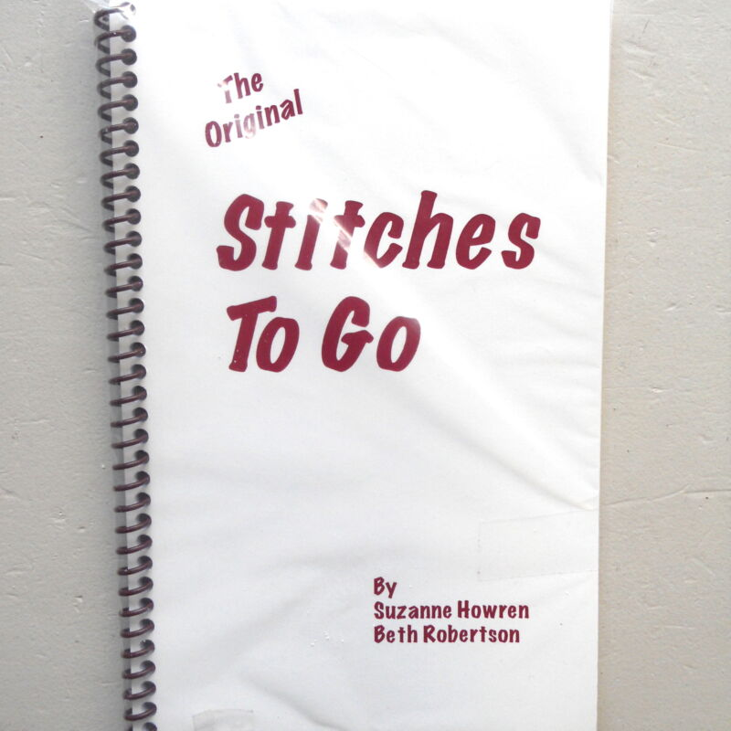 Needlepoint Reference Book Stitches To Go by Suzanne Howren & Beth Robertson