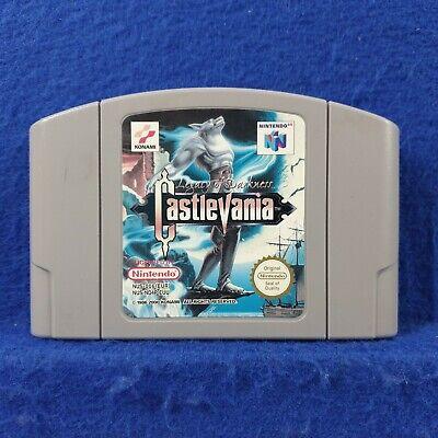 **N64 CASTLEVANIA Legacy of Darkness *x Genuine Game Cart PAL