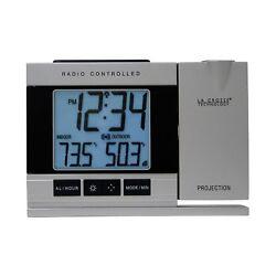 Alarm Clock with Indoor/Outdoor Temperature
