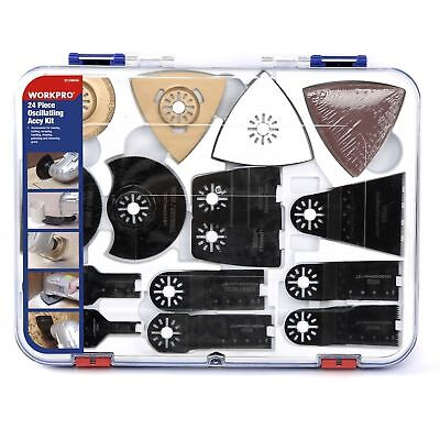 Best 24 Piece Oscillating Accessory New Kit Mixed Multitool Saw