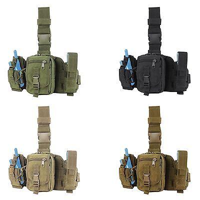 - Condor MA25 Tactical PALS MOLLE Modular GPS Tool Utility Drop Down Thigh Leg Rig