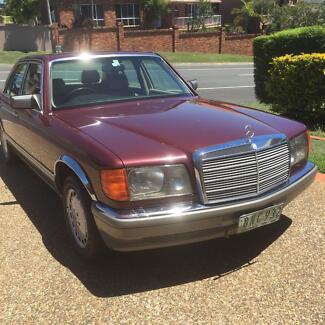 Mercedes 380se 1986 6 cyl
