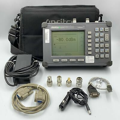 S251C ANRITSU SITE MASTER CABLE AND ANTENNA ANALYSER RF OPT 5,10B 625-2500MHZ