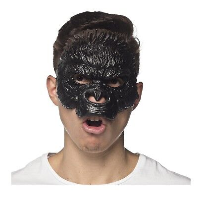 King Kong Mask (Adult Planet Of The Apes King Kong Gorilla Chimp Cesar Halloween Costume Mask)
