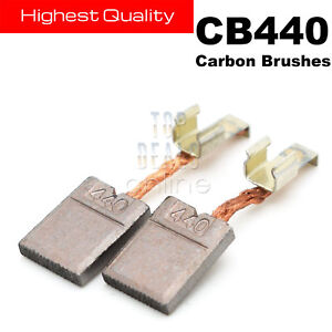 Makita CB440 Carbon Brushes DTD140 DTD146 DHP456 DHP458/482 DTW251 BHP451 BHP452
