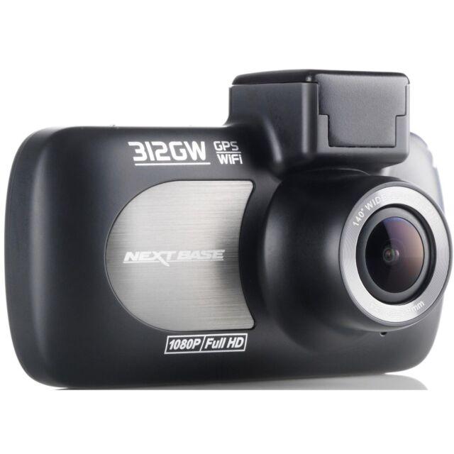 "Nextbase 312GW Dash Cam 2.7"" LED Car Recorder Night Vision GPS Wi-Fi"