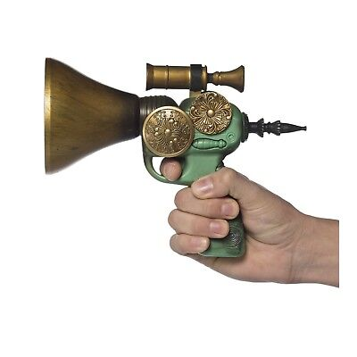 Steampunk Speaker Barrel Gun Halloween Costume Fake Weapon Gun Pistol Prop ](Halloween Barrel Prop)