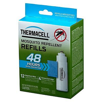 New ThermaCell Mosquito Repeller Refill - 48 Hour Value Kit R-4
