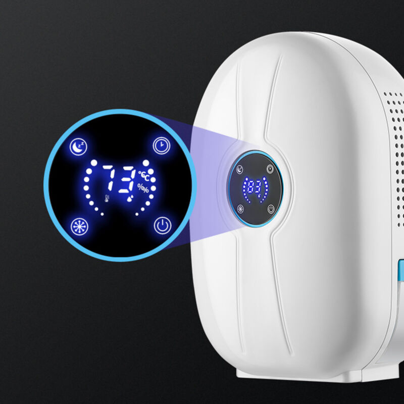 Dehumidifier Large Home Air Dryer Damp Moisture Free Bedroom Remote Control