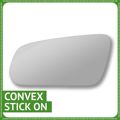 Convex Passenger Right Side Replacement Mirror Glass for 1987-1993 Ford Mustang