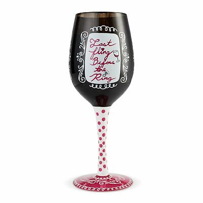 Lolita Bachelorette  15 oz Wine Glass Wedding 6002807 New 2019