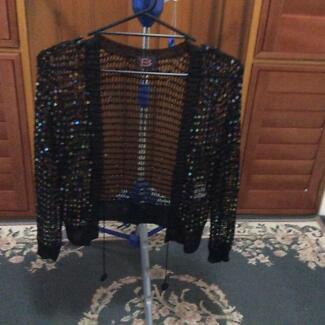 Black bling jacket