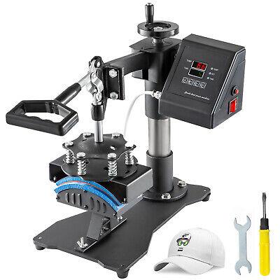 Heat Press Transfer Digital Clamshell 3.1x5.5 Hat Cap Sublimation Machine