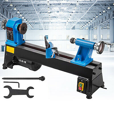 """Wood Lathe Wood Turning Lathe Machine 10"""" X 18"""" 5 Speed 760-"""