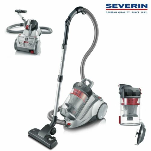 Severin Germany NonstopXL Bagless Canister Vacuum Cleaner, C