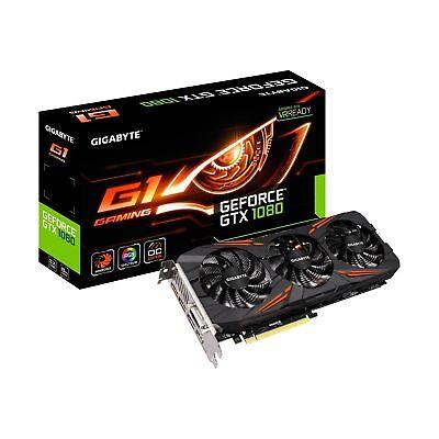 Gigabyte GeForce GTX 1080 G1 Gaming 8G Video Graphics Cards GV-N1080G1