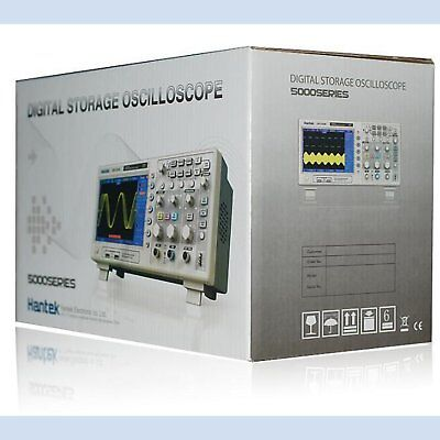 New Hantek Dso5102p Digital Oscilloscope 100mhz 1ghz 7 Tft Compared Tek Tds2012