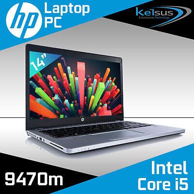 "Laptop Windows - HP EliteBook Folio 14"" Laptop Core i5 16GB RAM 1TB HDD SSD Windows 10"