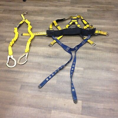 Dbi Sala Varies Vest Style Full Body Safety Harness Lg Wlanyard