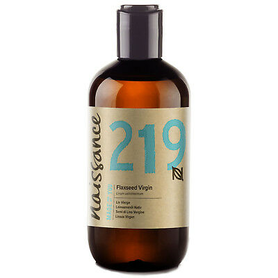 Naissance Aceite de Linaza Virgen - 100% Puro 250ml Aromaterapia