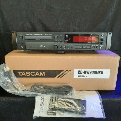 Tascam CD-RW900MKII Rackmount CD Recorder/Player - OpenBox Mint!