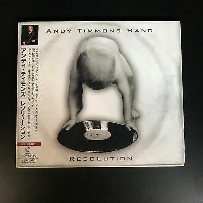 Andy Timmons Band ‎– Resolution [New! Japanese edition, 2006] With OBI. Sealed